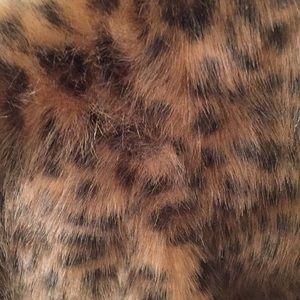 Fabulous Furs Other - Donna Salyers Fabulous Furs leopard print vest